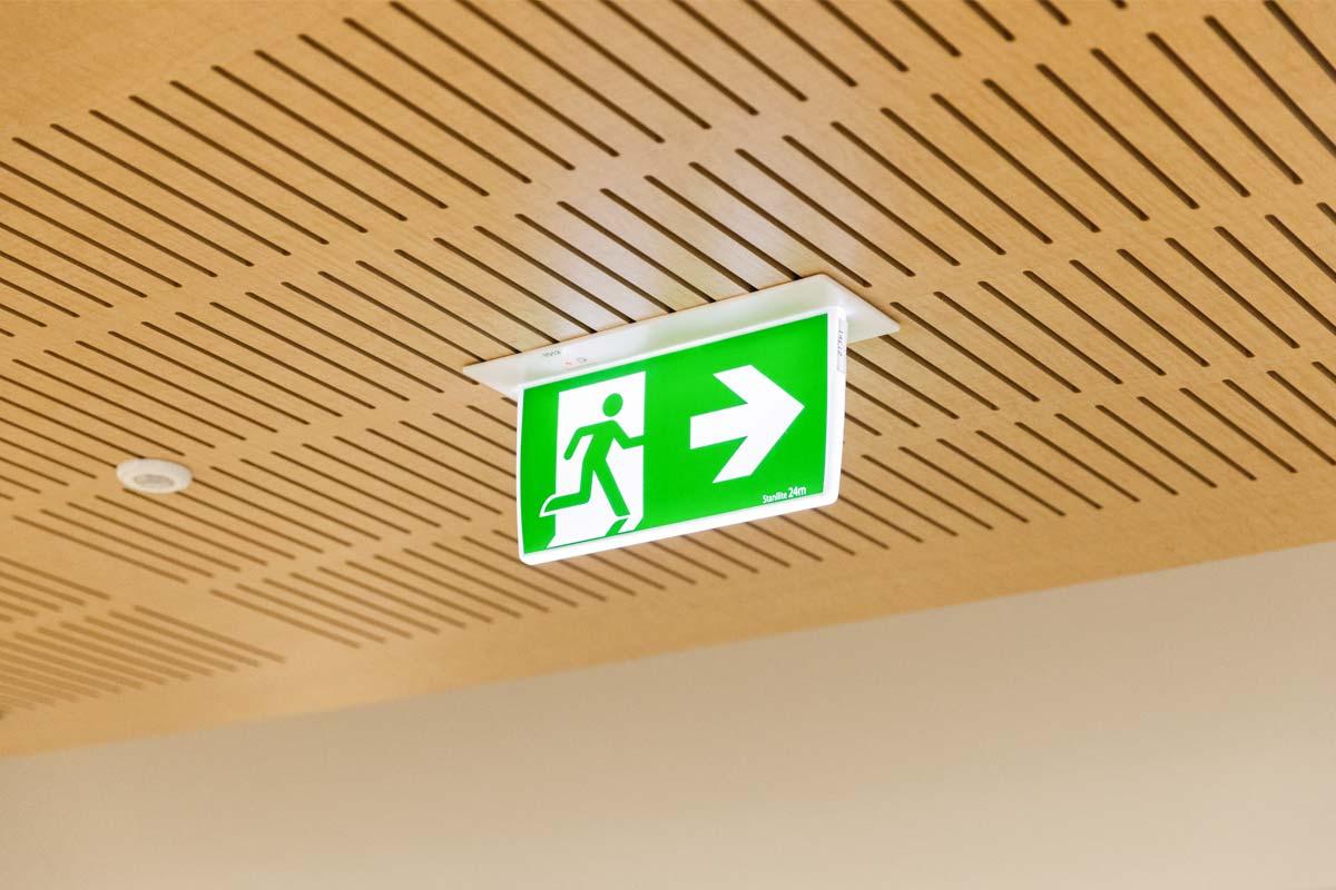 Emergency Exit Lighting Byron Bay