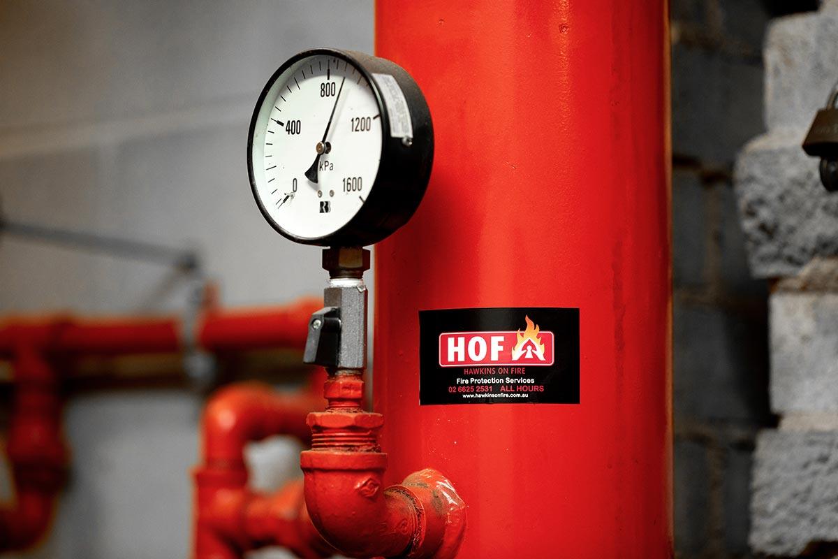 Fire Sprinkler System Gauge