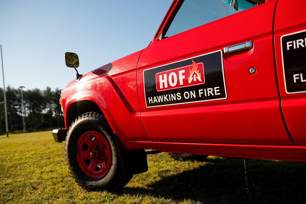 HOF Fire Hydrant Testing Truck