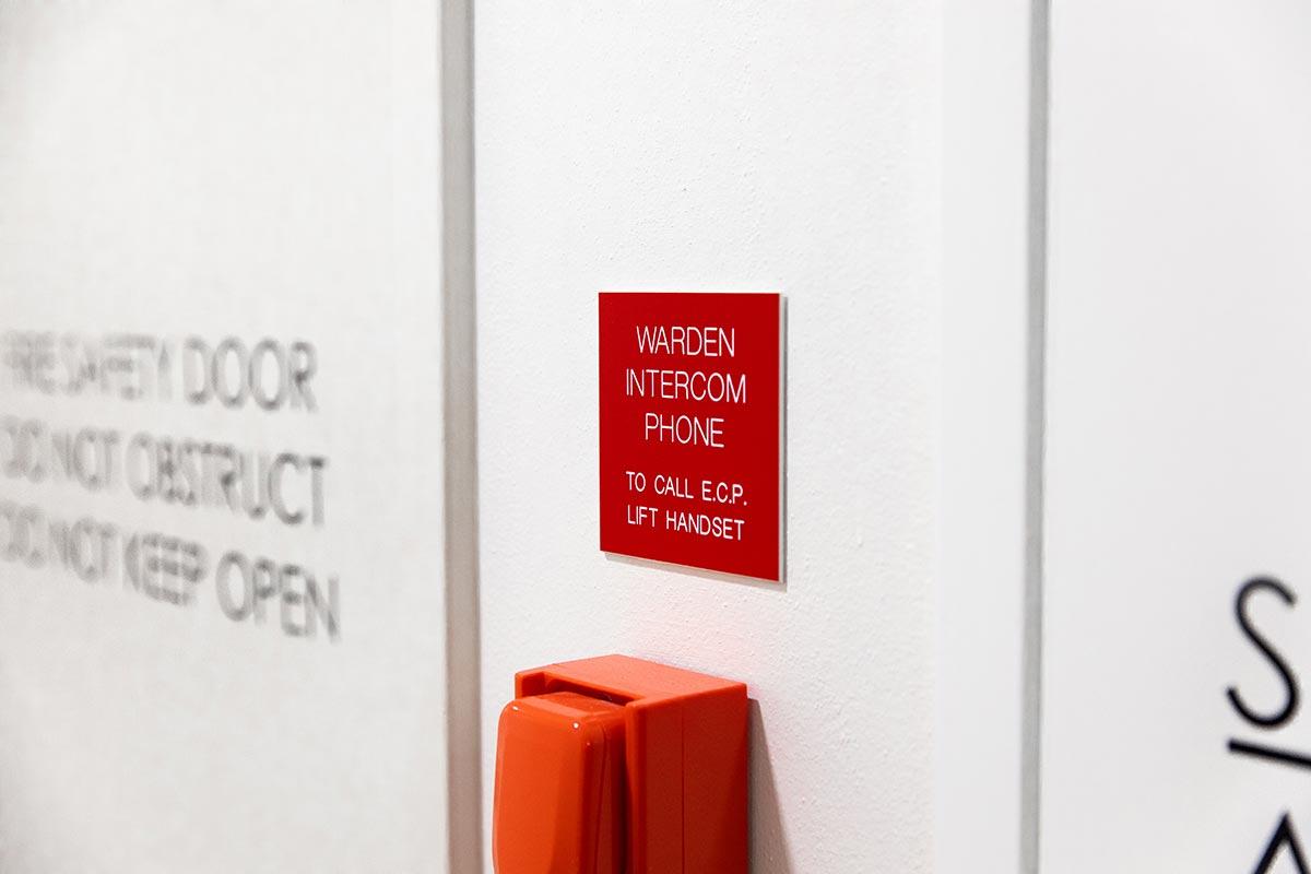 Warden Intercom Phone Maintenance