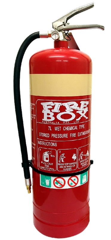 Fire Exinguisher Yellow Band FB70WC